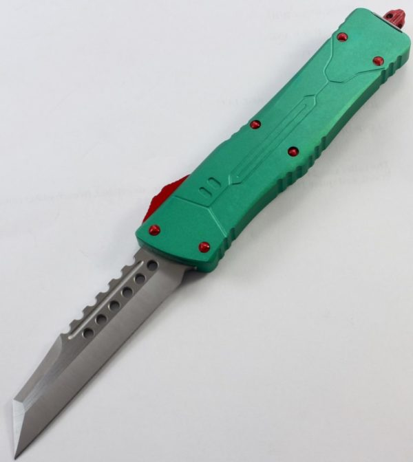 TacKnives OTF Double Action Safety Knife Out-The-Front MTU10