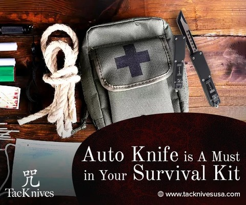 Include an Auto Knife in Your Ultimate Survival Kit